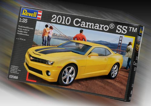 revell 2010 camaro ss 1 25. Black Bedroom Furniture Sets. Home Design Ideas